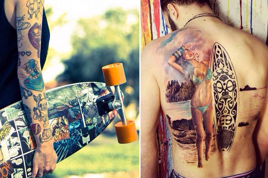 comment préserver la couleur et l'éclat d'un tatouage ? – ride or die
